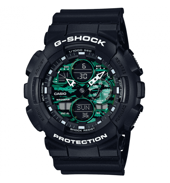 CASIO G-Shock orologio in resina fondo nero - Classic