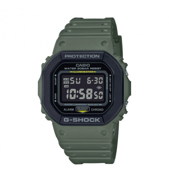 CASIO G-Shock orologio in resina fondo nero - The Origin