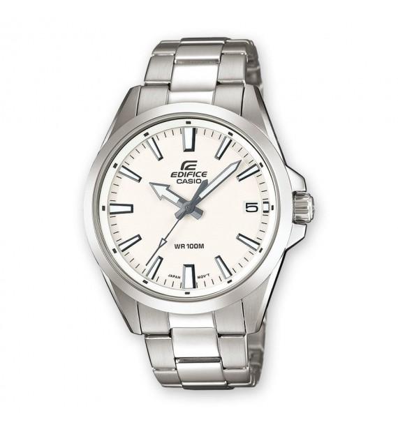 CASIO Edifice orologio in acciaio fondo bianco - Classic Collection