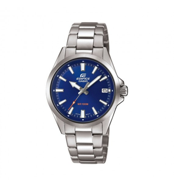CASIO Edifice orologio in acciaio fondo blu - Classic Collection