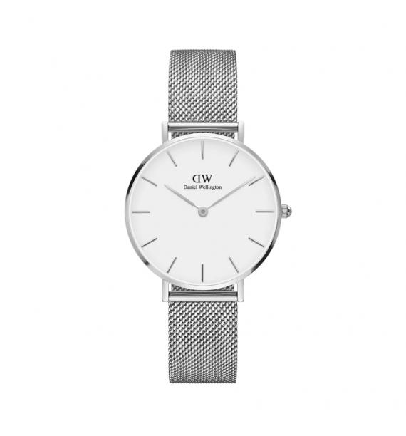 DANIEL WELLINGTON Petite orologio in acciaio fondo bianco - Sterling