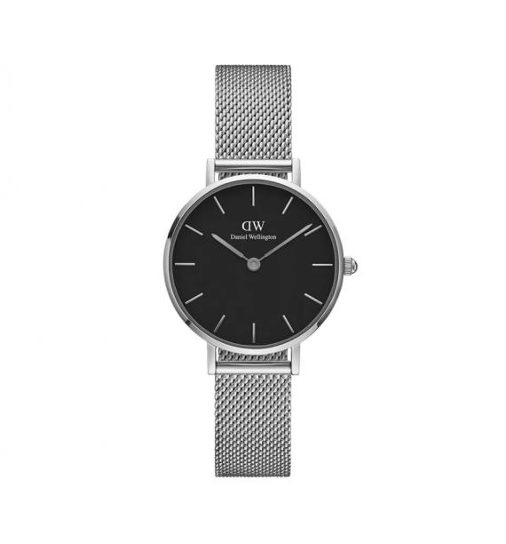 DANIEL WELLINGTON Petite orologio in acciaio fondo nero - Sterling