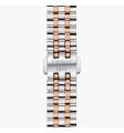TISSOT - Orologio in acciaio inox fondo silver - Carson Premium