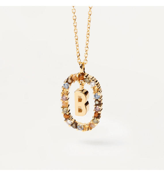 PD PAOLA-LETTER B NECKLACE GOLD